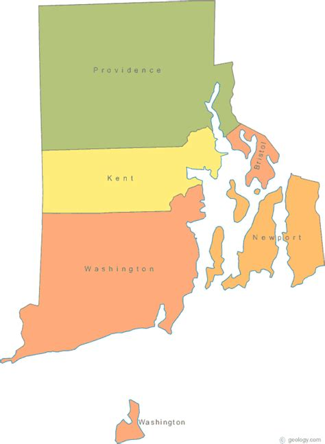 To Rhode Island by Map Of Rhode Island