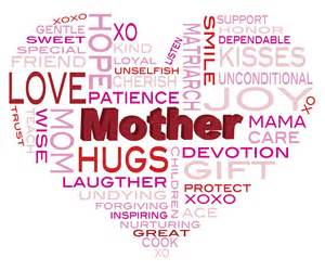 happy mothers day word cloud illustration digital by jpldesigns
