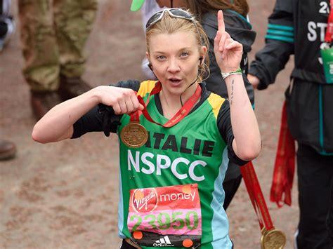 natalie dormer marathon natalie dormer says she doesn t care about running a