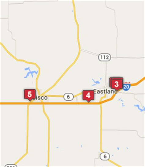 breckenridge texas map breckenridge texas hotels motels see all discounts
