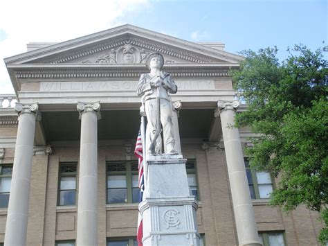 Williamson County Tx Search File Confederate Statue At Williamson County Tx Courthouse Img 7113 Jpg