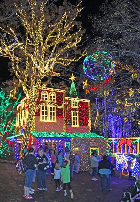 silver dollar city lights silver dollar city dazzles florissant
