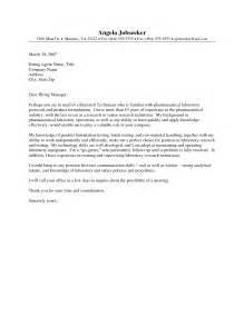 pharmacy technician resume cover letters