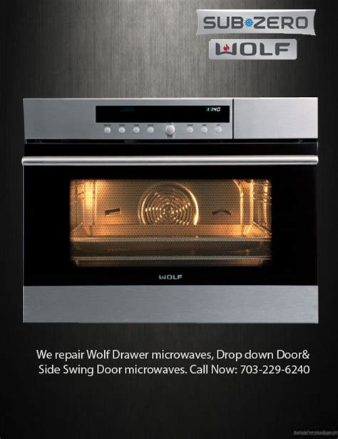 wolf microwave drawer problems sub zero wolf appliances repair same day service in