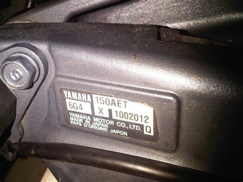 yamaha outboard motor year identification help yamaha 150 aet outboard the hull truth boating