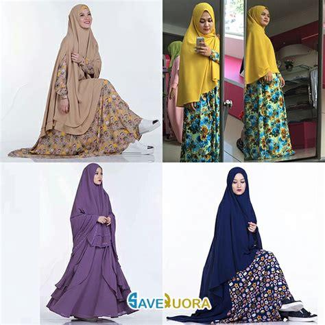 bodel baju tahun ini model gambar baju muslim lebaran trend terbaru tahun ini 2018