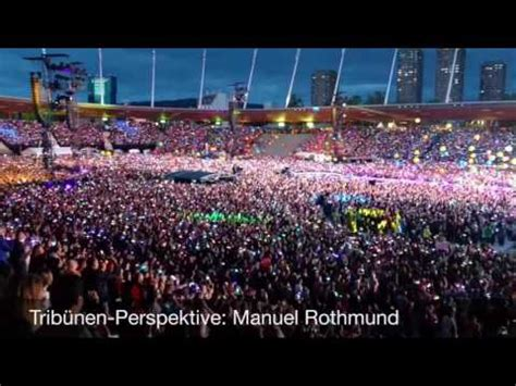 coldplay zurich coldplay best of zurich 2016 youtube