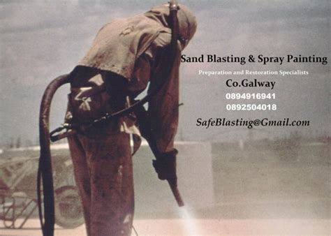 spray painter galway sand blasting spray painting plastic welding for sale in