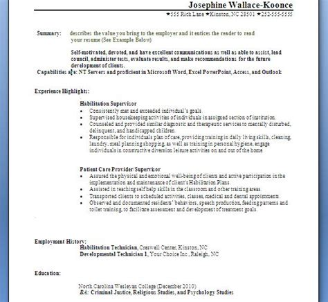 Resume Skills Headings Introduction And Resume Posting August 2011