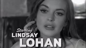 Is Lindsay Lohan Headed The Path Of Self by Trailers For The Canyons Play Up Lindsay Lohan Factor