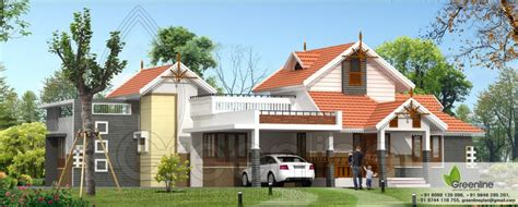 tile roof for 1900 sq house traditional single floor kerala house elevation at 1900 sq ft
