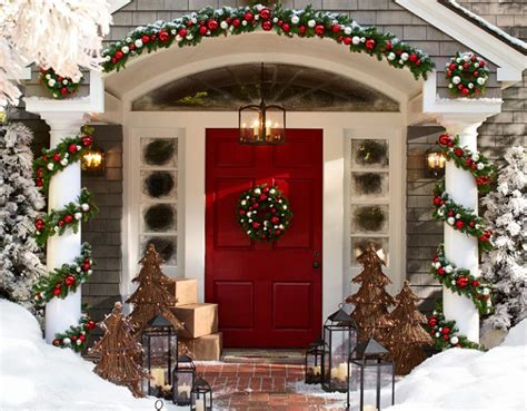 exterior christmas decorating net outdoor decoration