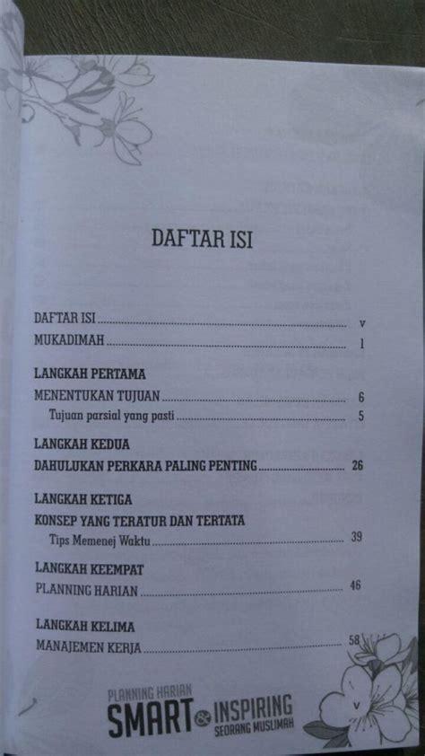 Buku Smart Niru Nabi buku planning harian smart inspiring seorang muslimah toko muslim title