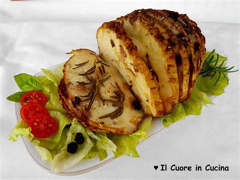 cucinare sedano rapa arrosto di sedano rapa il cuore in cucina
