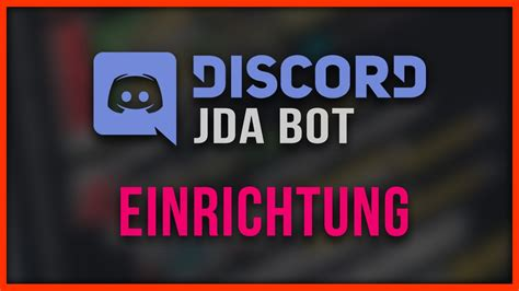 discord youtube notification bot jda discord bot programmieren 01 einrichtung