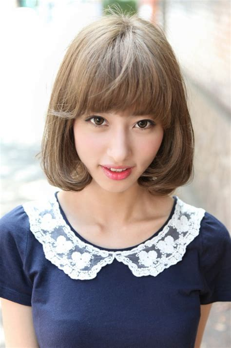 cute hairstyles japanese 2013 cute japanese bob hairstyle for women hairstyles weekly