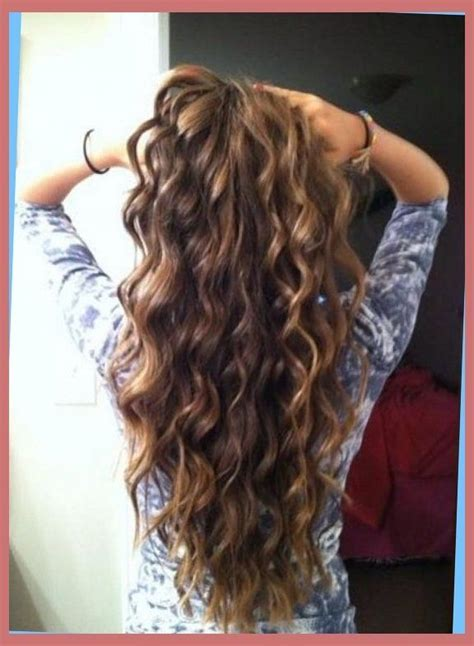 spiral curls toward the face period loose spiral perm for medium length hair before and after
