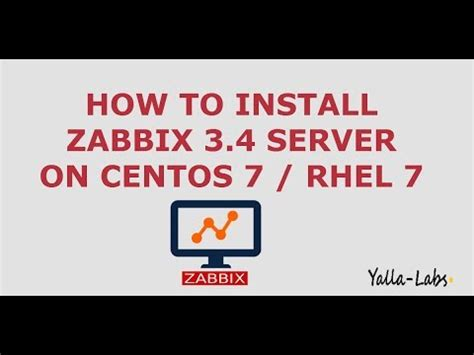 zabbix tutorial youtube zabbix how to install zabbix server 3 4 on centos 7