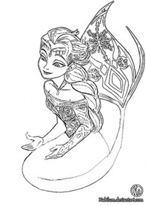 frozen mermaid coloring pages and elsa coloring pages mermaid sketch coloring page