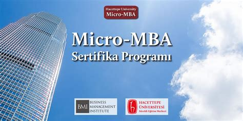 Micro Mba Course by Bmi Business Management Institute
