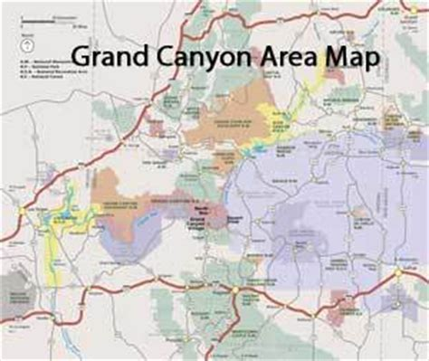 grand map area maps archives grandcanyon