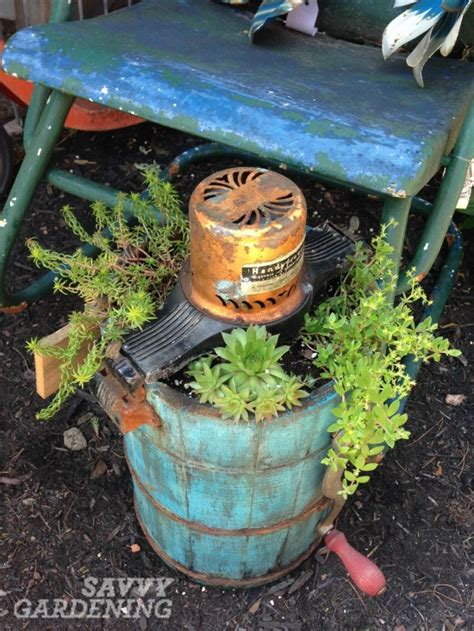 recycled containers for gardening the 6 new trends in container gardening page 2 of 2