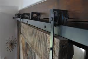 Bypass Barn Door Track System Custom Board And Steel Hancrafted Reclaimed And New Furniture Made In Usa Barn Door Gallery