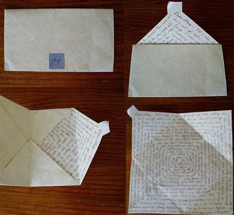 How To Fold Paper Notes In Cool Ways - 15 best ways to fold notes images on paper