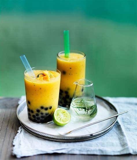 Bubble Tea Gift Card - mango and kaffir lime bubble tea recipe gourmet traveller
