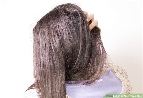 hairstyles for long straight hair wikihow 3 ways to thin hair wikihow 3 ways to get thick hair wikihow