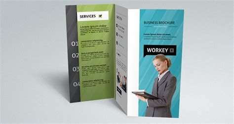 Corporate Tri Fold Brochure Template 25 best free brochure templates psd tutorial zone