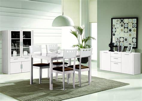 comedor moderno blanco awesome interiors comedores