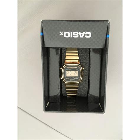 casio dorato orologio da polso casio dorato vendu par birgel 4383686