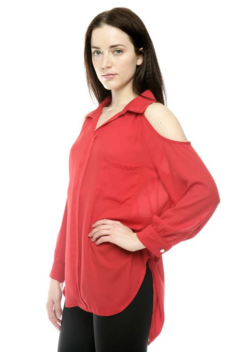 Blouse Out Sholder mix match cut out shoulder blouse from bucktown by dress