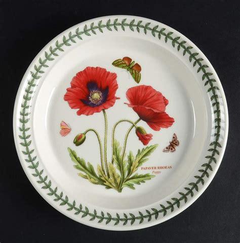 Botanical Gardens Dishes Portmeirion Botanic Garden Poppy Salad Plate 10375275 Ebay