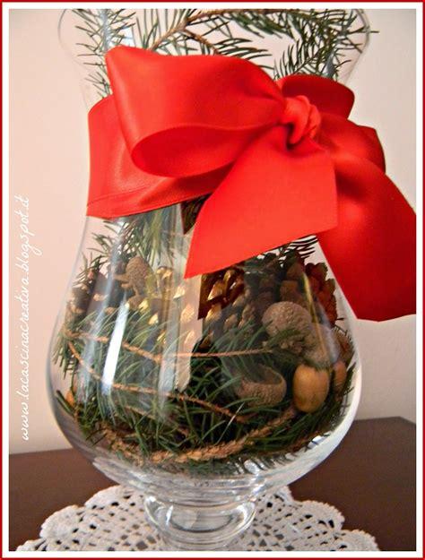 vasi natalizi la cascina creativa il natale in un vaso di vetro