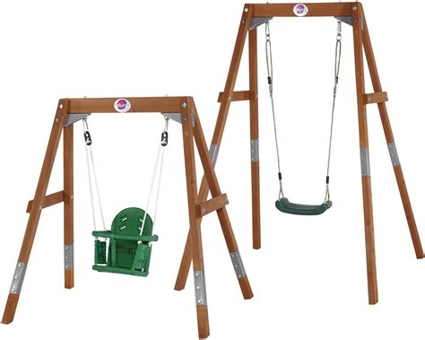 swing set seats new plum extendable wooden swing set plastic child