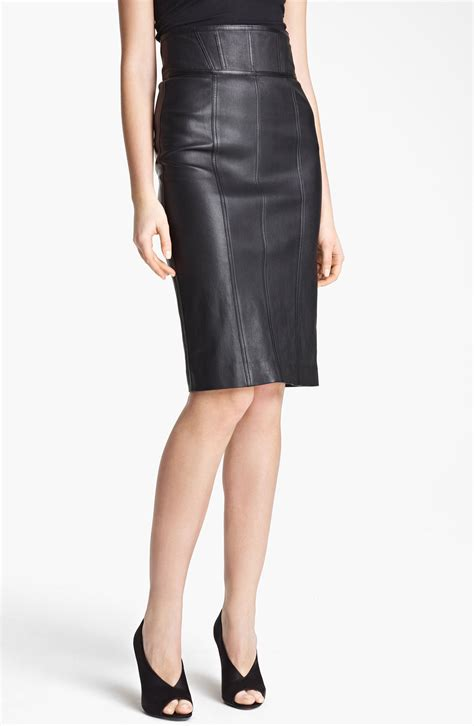 High Waist leather high waisted skirt albums