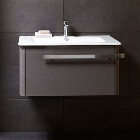 grey bathroom sink unit linen 800 basin and wall mounted unit grey bathstore