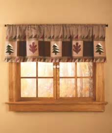 Cabin Kitchen Curtains Window Valance Big Pine Lodge Window Valance Country Bath Bedroom Kitchen Decor Ebay