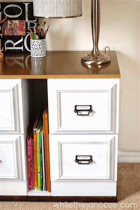 diy file cabinet makeover office organization and decluttering southern hospitality