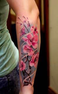 cherry blossom arm tattoo 40 beautiful cherry blossom tattoos nenuno creative