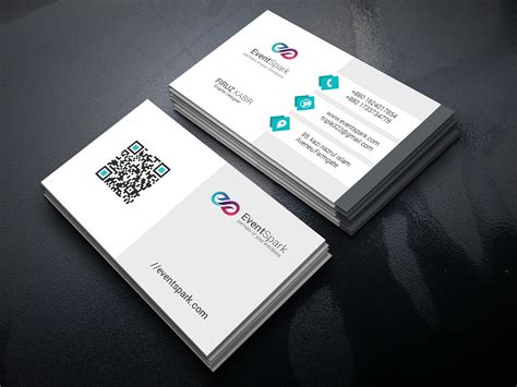 event management business card template business card design for event management company on behance