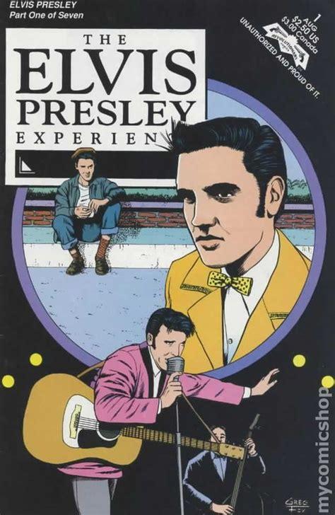 biography elvis book elvis presley experience 1992 1st printing comic books