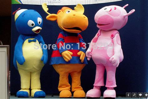 Backyardigans Costumes Popular Backyardigans Costume Buy Cheap Backyardigans