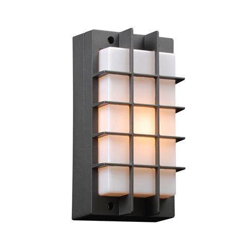 home design outdoor living credit card filament design 1 light outdoor bronze wall sconce with