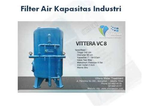 Filter Air Penjernih Air Penyaringan Air 5 filter air penyaring air dan penjernih air vittera