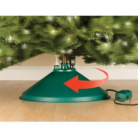 the christmas tree carousel hammacher schlemmer