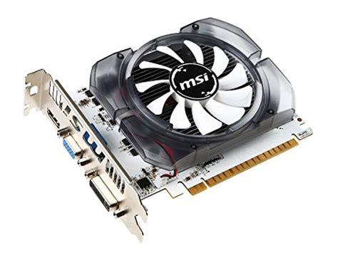Msi Vga Nvidia N730 2gd3v3 Hitam msi geforce gt 730 fermi ddr3 128 bit 2gb directx 12 n730