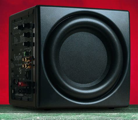 Subwoofer Untuk Home Theater bass management the right stuff audioholics